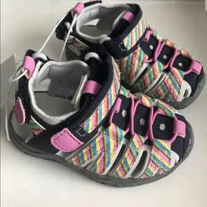 Cat & Jack Fisherman sandals infant sz 5